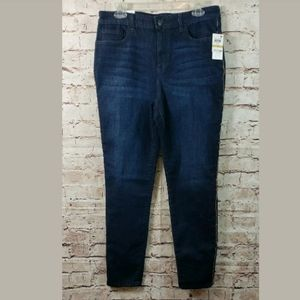 Style and Co Athena Skinny Leg Jeans Size 14